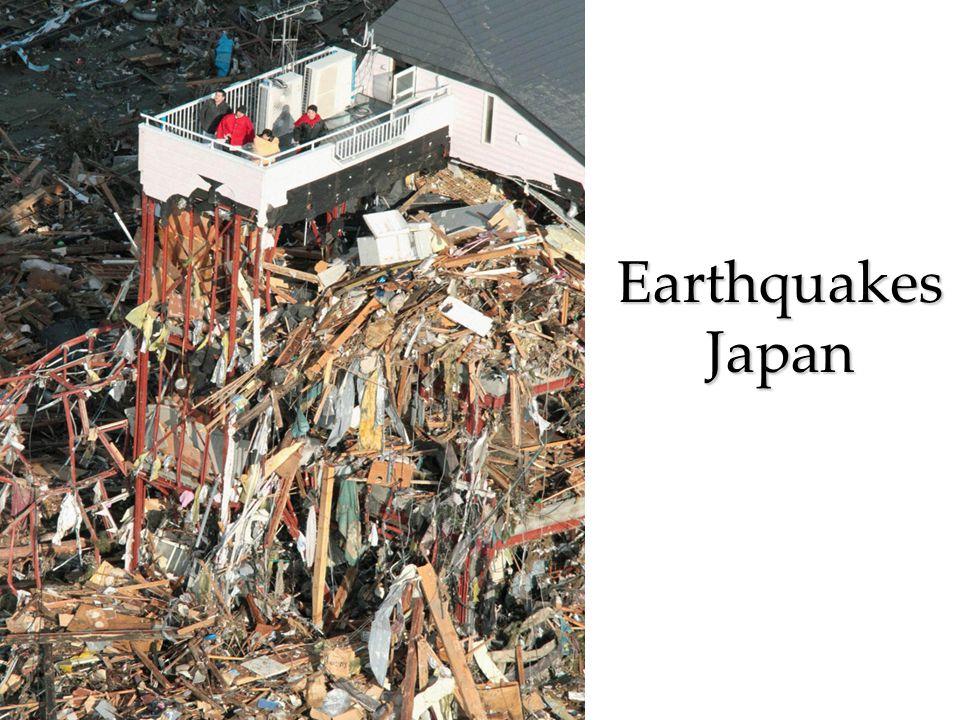 Earthquakes Japan