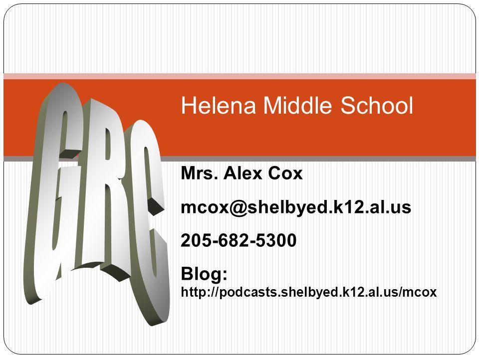 Helena Middle School Mrs.