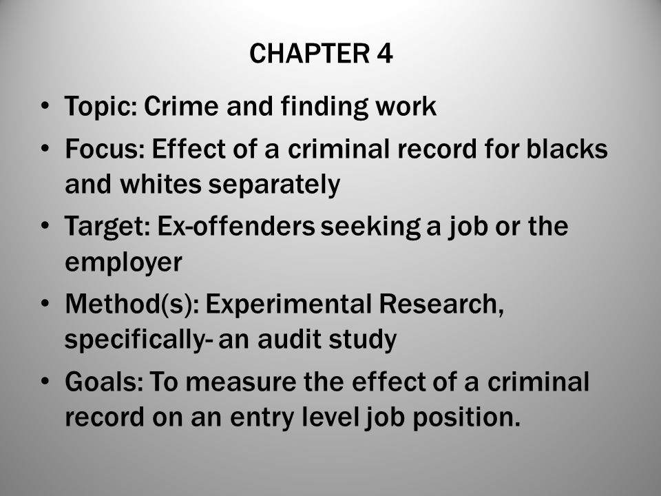 The Mark of Race- Impact of Race on Hiring Decisions Despite the widespread conscious endorsements of racial equality, deep-seated stereotypes about the intelligence, work ethic, criminality, and cultural disposition of various groups continue to frame our evaluations and decision making in social situations (Pager 2007, 89).