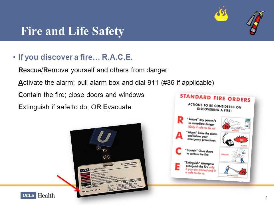 Fire and Life Safety Types of Fire Classes you may encounter: A, B, C 8  Class B: Flammable liquids such as gasoline and alcohols  Class C: Energized electrical equipment – including wiring fuse boxes, circuit breakers and appliances  Class A: Ordinary combustibles such as wood, cloth and paper