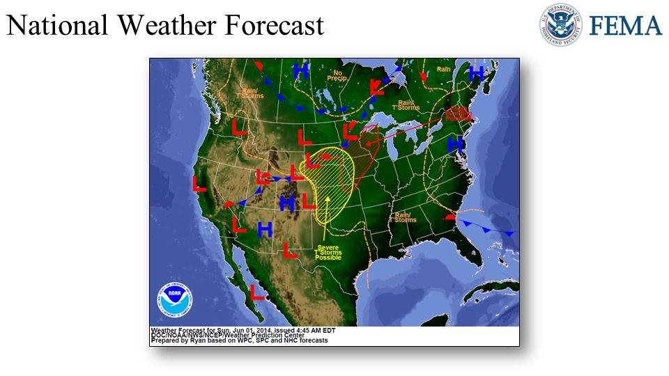 http://www.hpc.ncep.noaa.gov/national_forecast/natfcst.php National Weather Forecast Day 2 Day 3 Day 1
