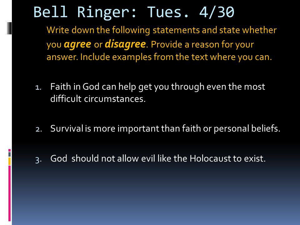 Bell Ringer: Tues.