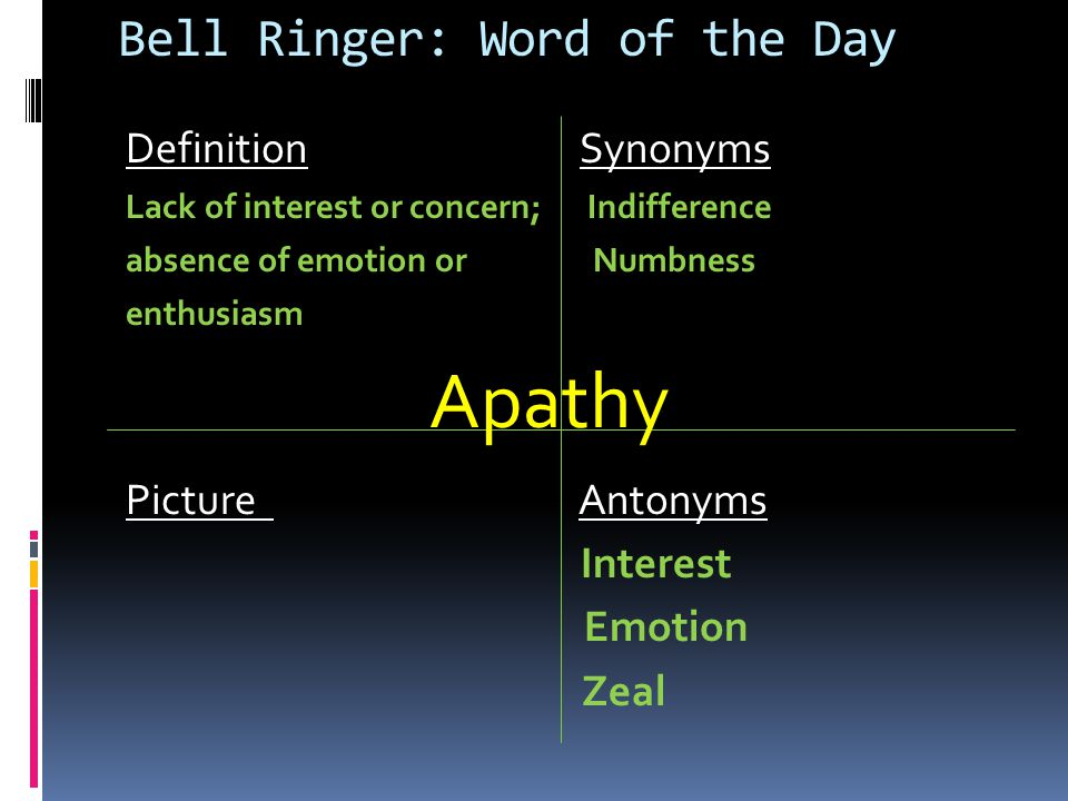 Bell Ringer: Fri. 2/10/12 Definition Parts of Speech Profound: Adjective Profoundly: Adverb Profoundness: Noun Synonyms Intense Sentence Absolutely Ve