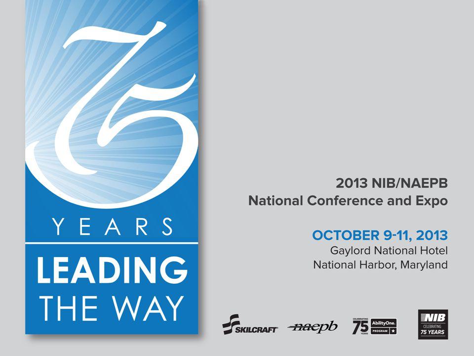 1| 2013 NIB/NAEPB National Conference and Expo