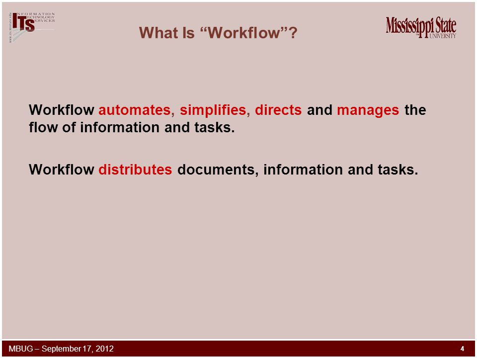 What Is Workflow .