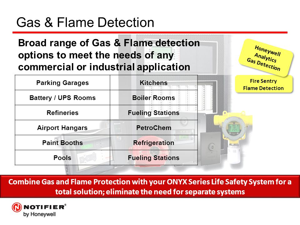 Fire Sentry Flame Detection Fire Sentry Flame Detection Gas & Flame Detection Broad range of Gas & Flame detection options to meet the needs of any co