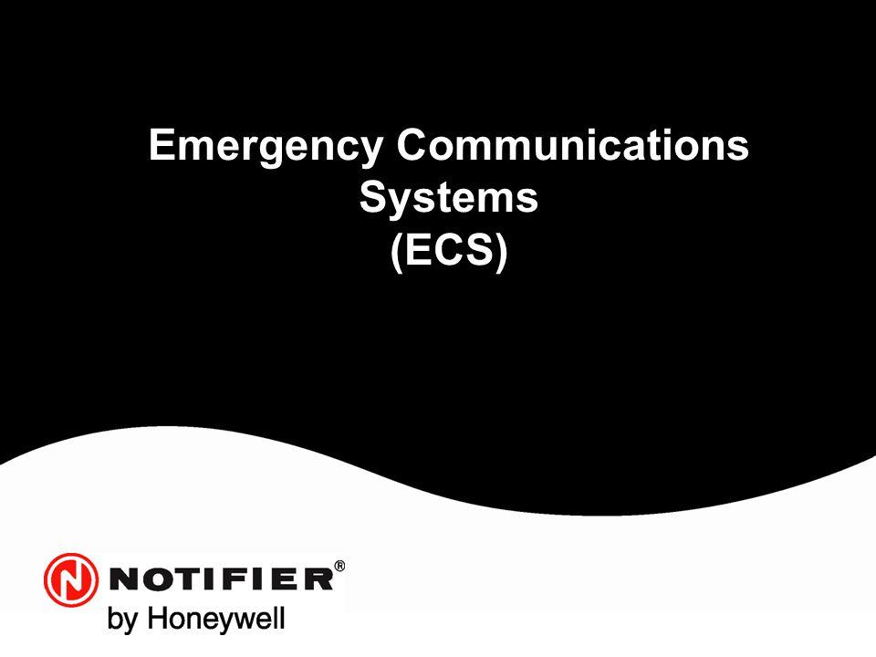 Emergency Communications Systems (ECS)