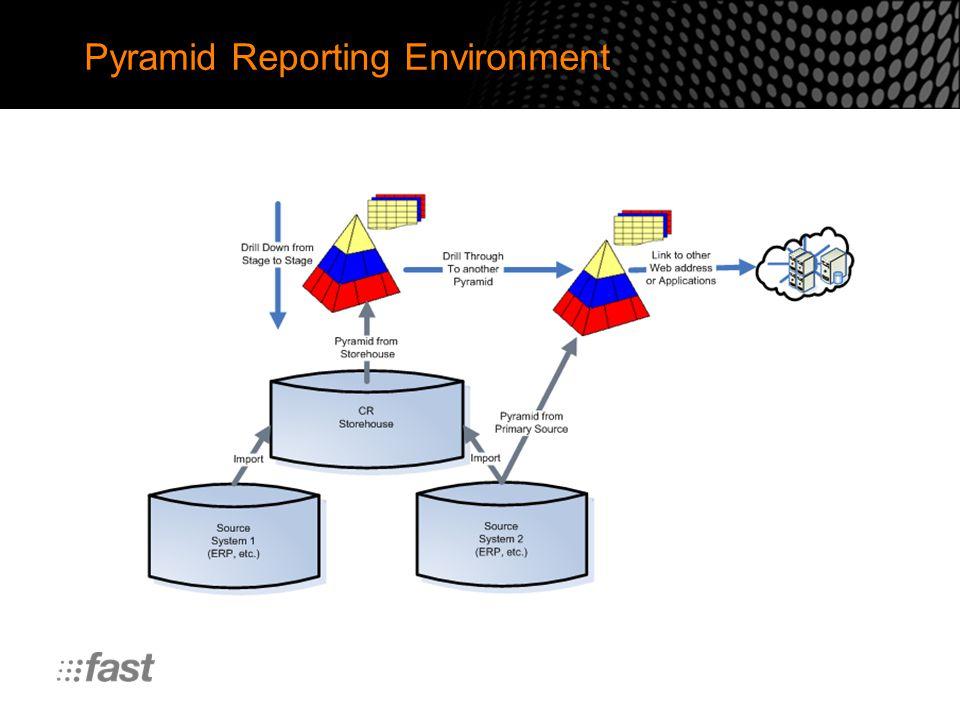 Pyramid Reporting Environment