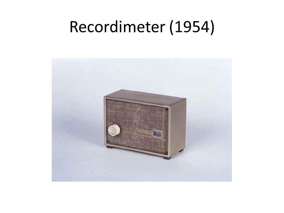 Recordimeter (1954)