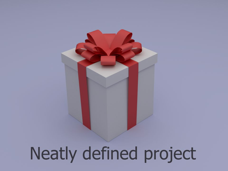 Neatly defined project