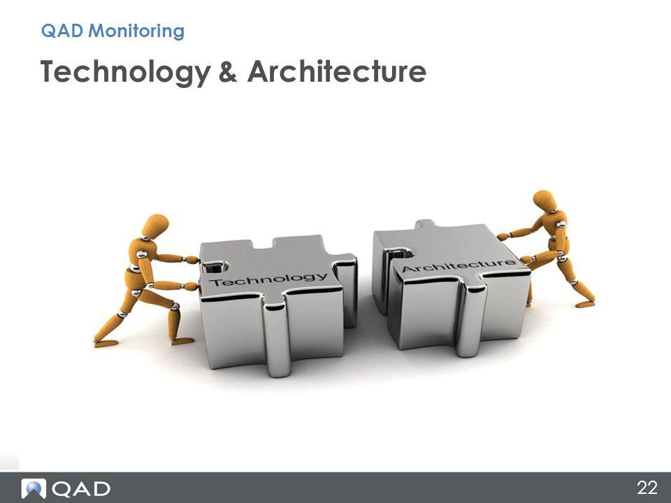 22 Technology & Architecture QAD Monitoring