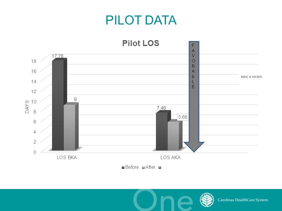 PILOT DATA