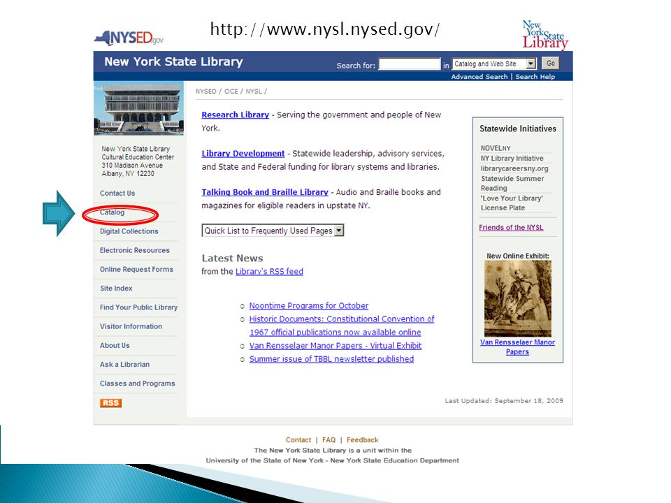 http://www.nysl.nysed.gov/