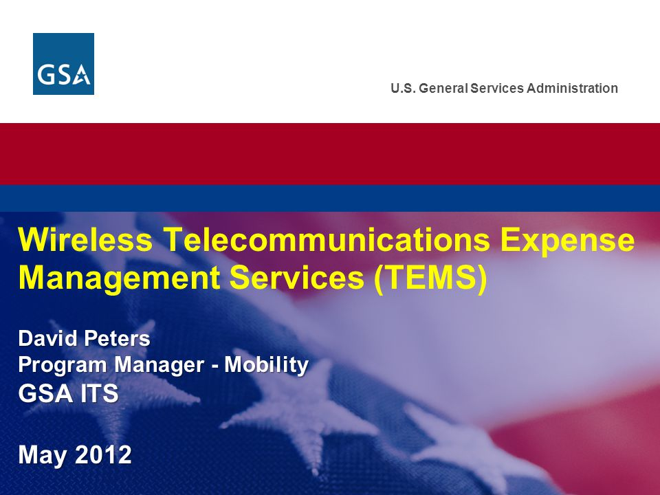 TEMS Agenda  Introduction to Wireless TEMS  Options for Purchasing Wireless TEMS  Outline the TEMS Process—Agency Customer Perspective  TEMS Success Stories 2