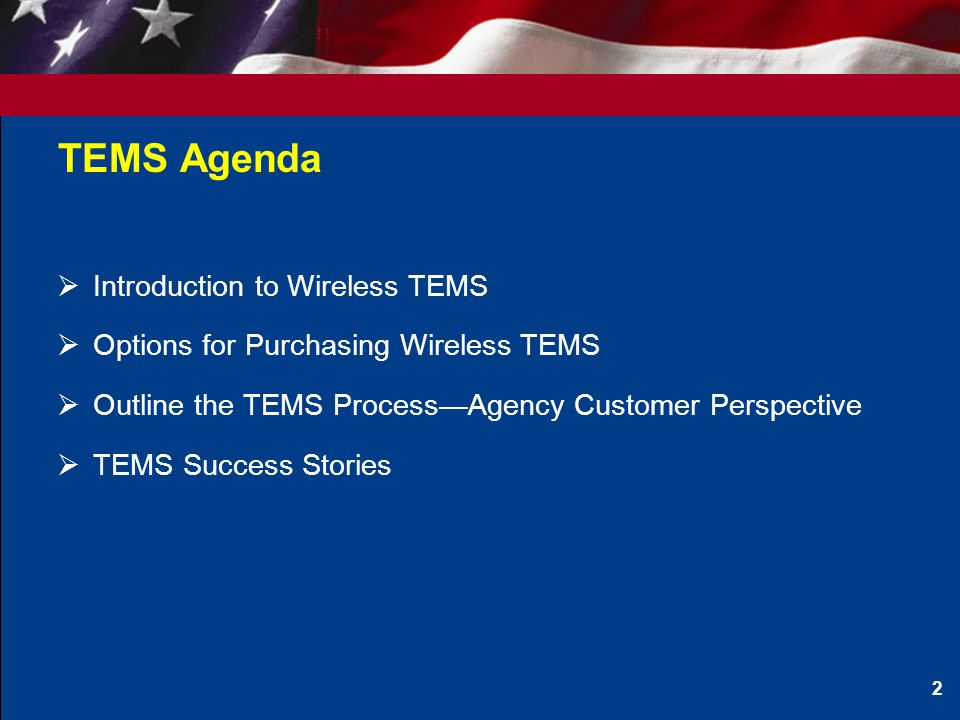 What is Wireless TEMS---Now and in the Future.
