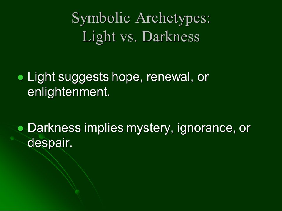 Symbolic Archetypes: Supernatural Intervention God or gods intervene in a given situation God or gods intervene in a given situation The gods will often favor the hero but occasionally they do not.