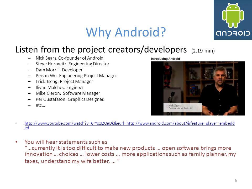Inside Android: Intents Chủ đ ề quan trọng hay gặp trong phát triển ứng dụng Android là Intent.
