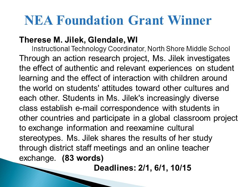Total 2013 Competitive Grants: $1,336,392