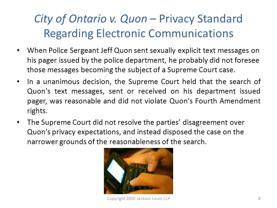 City of Ontario v.