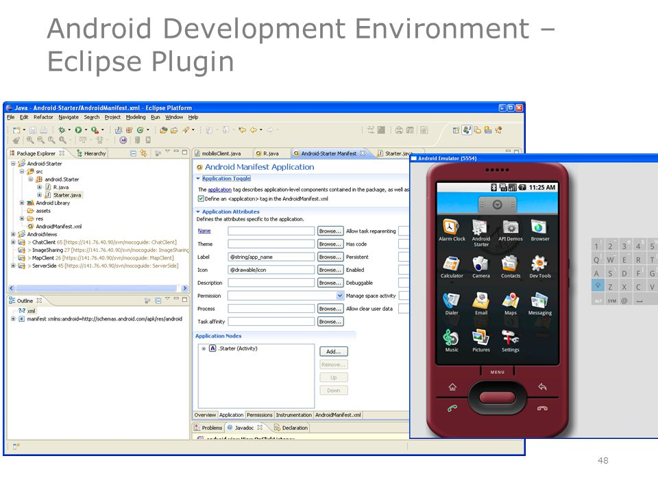 Android Development Environment – Eclipse Plugin 48
