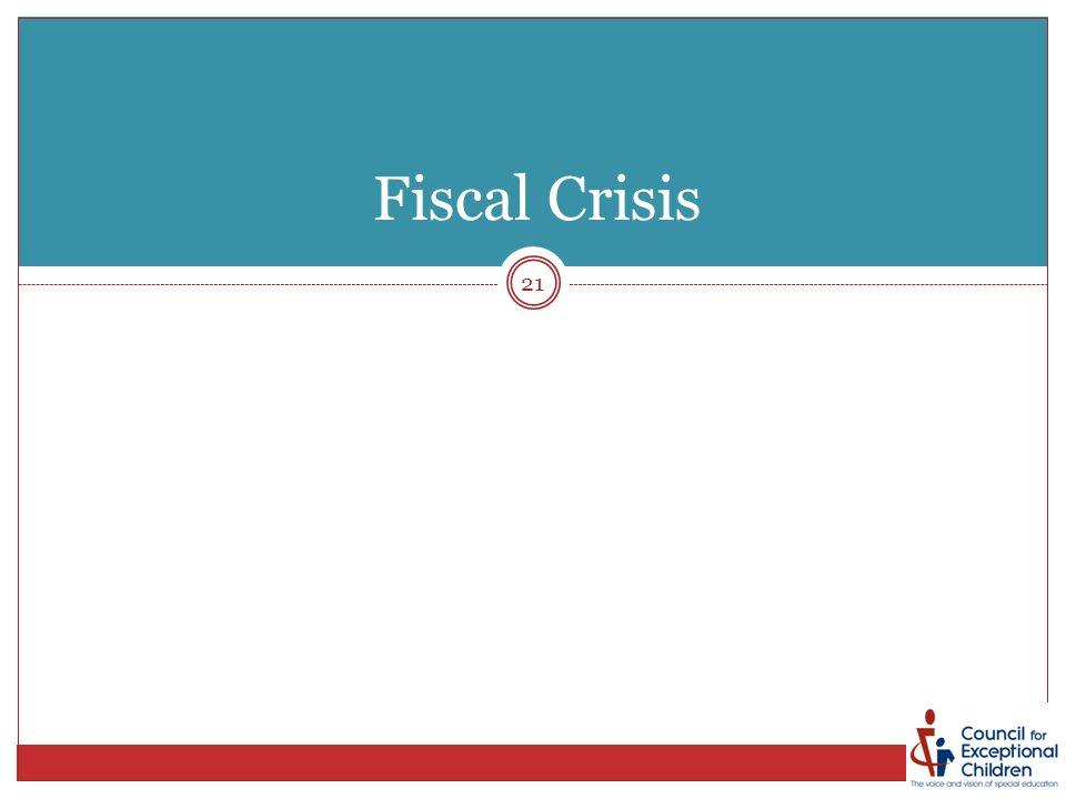 21 Fiscal Crisis