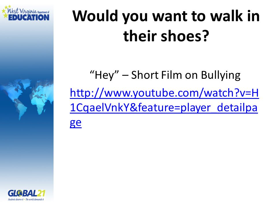 Would you want to walk in their shoes.
