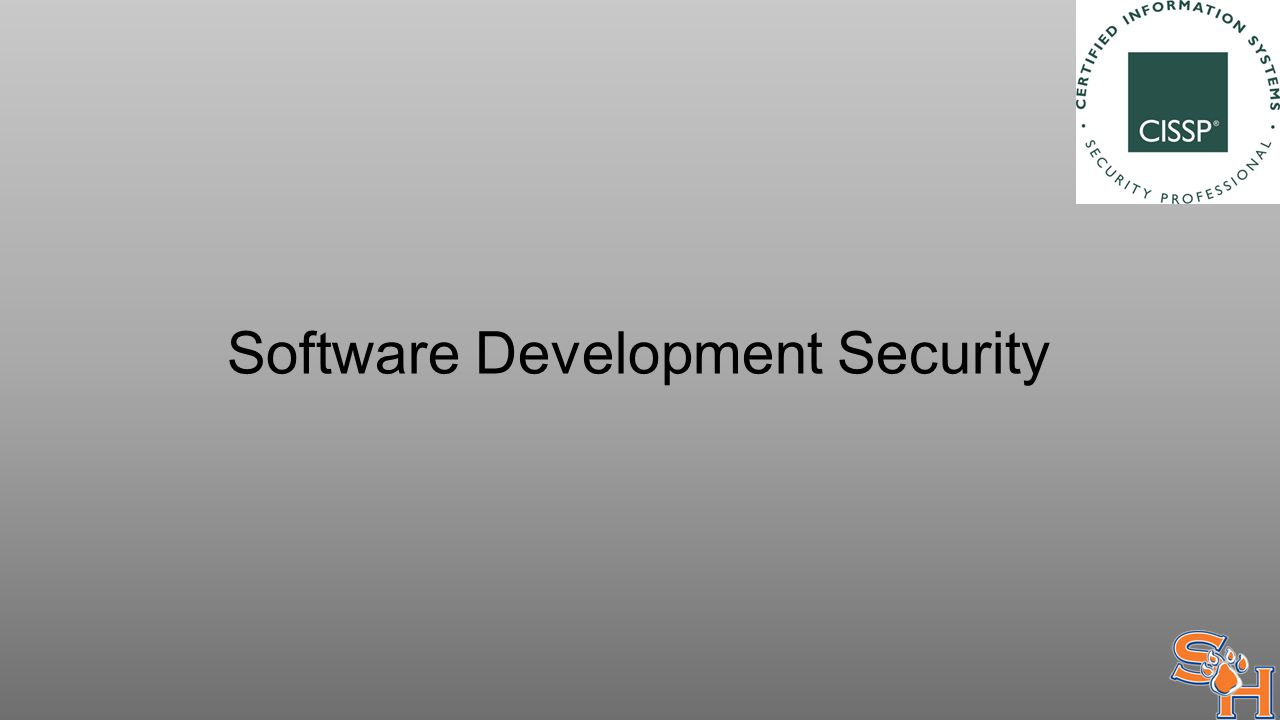 Software Development Security