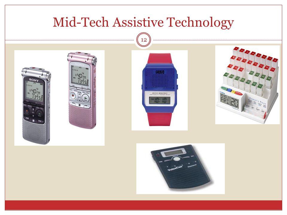 Mid-Tech Assistive Technology 12
