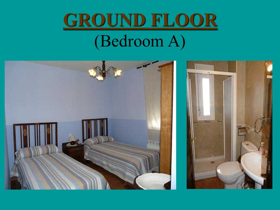 GROUND FLOOR GROUND FLOOR (Kitchen - Sittinrum)