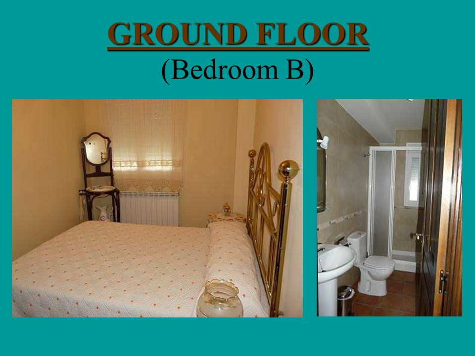 GROUND FLOOR GROUND FLOOR (Bedroom A)
