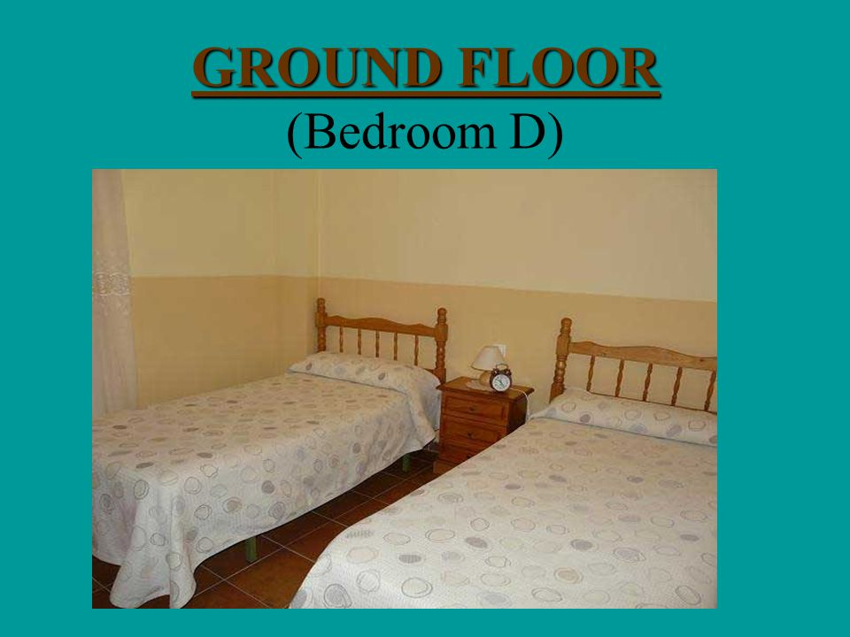 GROUND FLOOR GROUND FLOOR (Bedroom C)