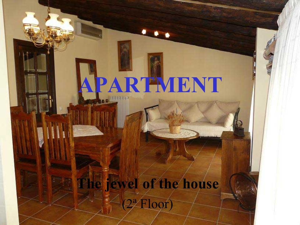 APARTMENT The jewel of the house (2ª Floor)