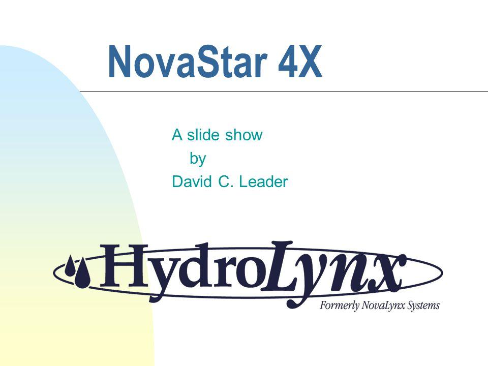 NovaStar 4X A slide show by David C. Leader