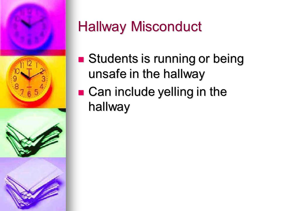 Inappropriate Language Student uses inappropriate language that is not directed toward another student or staff member Student uses inappropriate language that is not directed toward another student or staff member Example.
