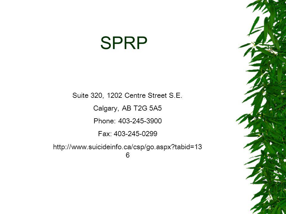 SPRP Suite 320, 1202 Centre Street S.E.