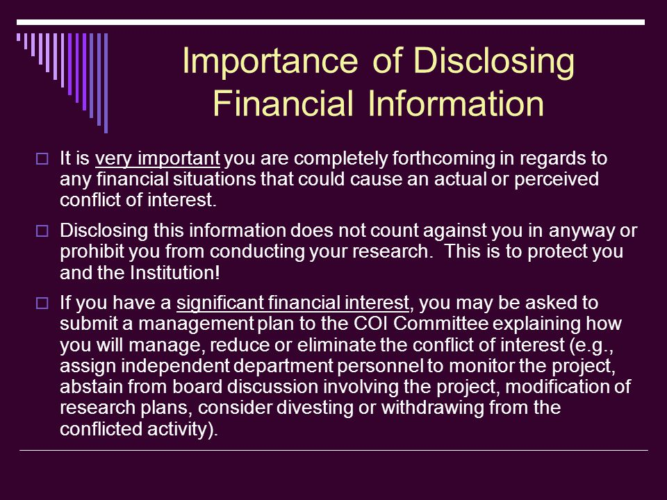 COI Annual Disclosure Form Section 1  Question #2 continued: If you do serve on a board of a business entity that is engaged in research here at LSUHSC- Shreveport, please check Yes .