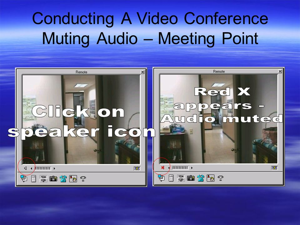 Conducting A Video Conference Muting Audio – Meeting Point