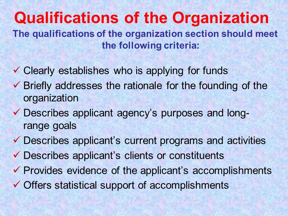 Definition Applicant's Commitment and Capacity: A description of success with similar projects, available facilities and equipment DOs Do… Indicate in