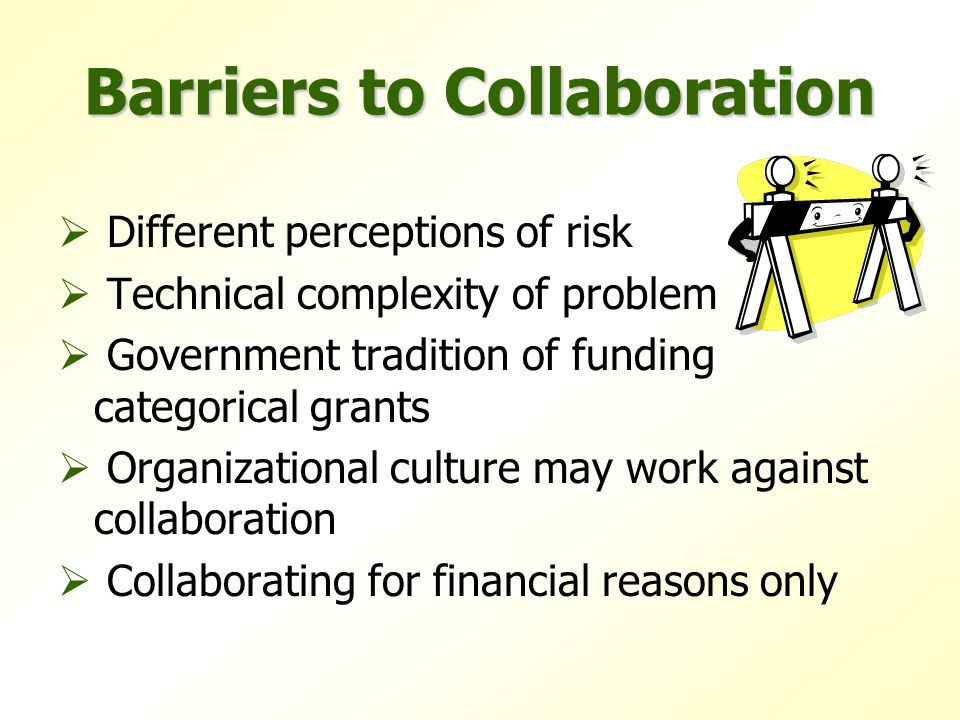 Ineffective Collaborations