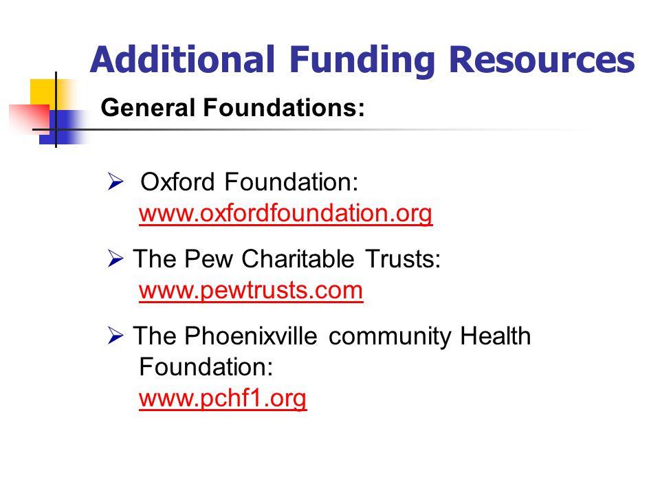 4. Professional Membership: Association of Fund Raising Professionals 5. Delaware Association of Nonprofit Agencies: www.delawarenonprofit.org Foundat