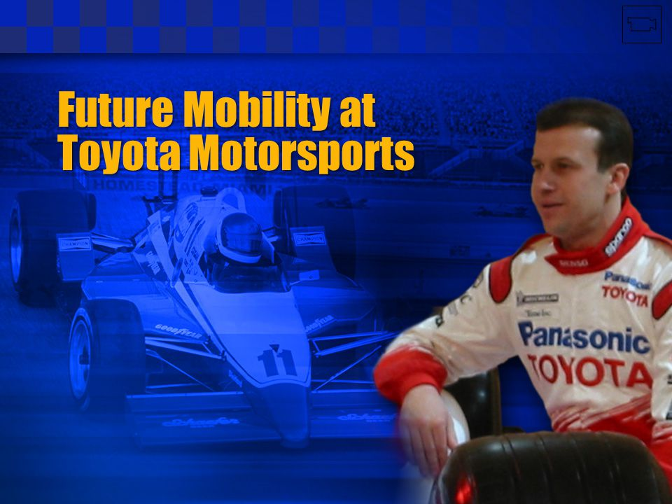 Future Mobility at Toyota Motorsports