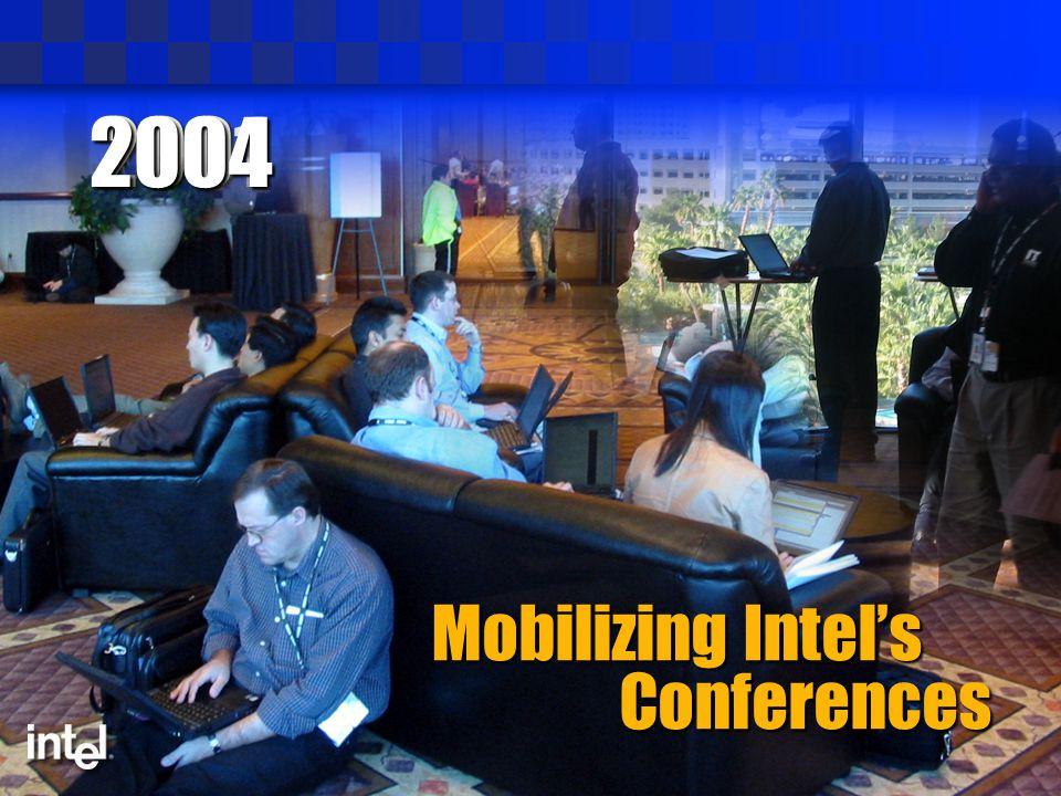 20012004 Mobilizing Intel's Conferences