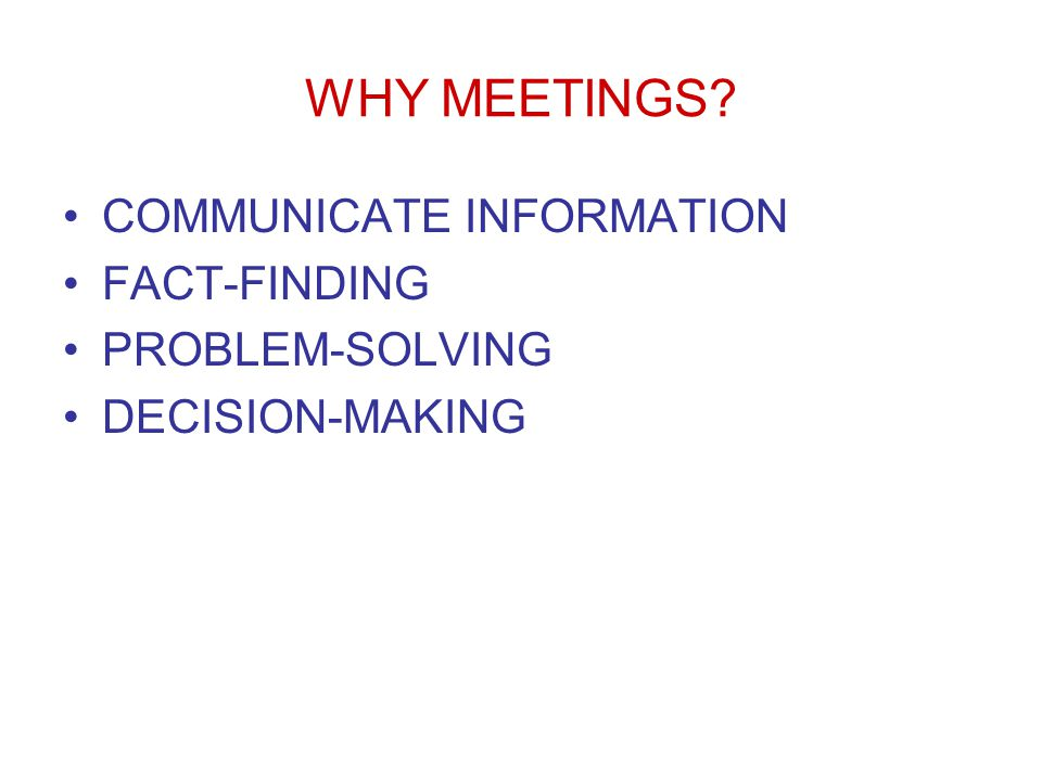 Lecture Eleven Chapter Thirteen Group Dynamics and Meetings