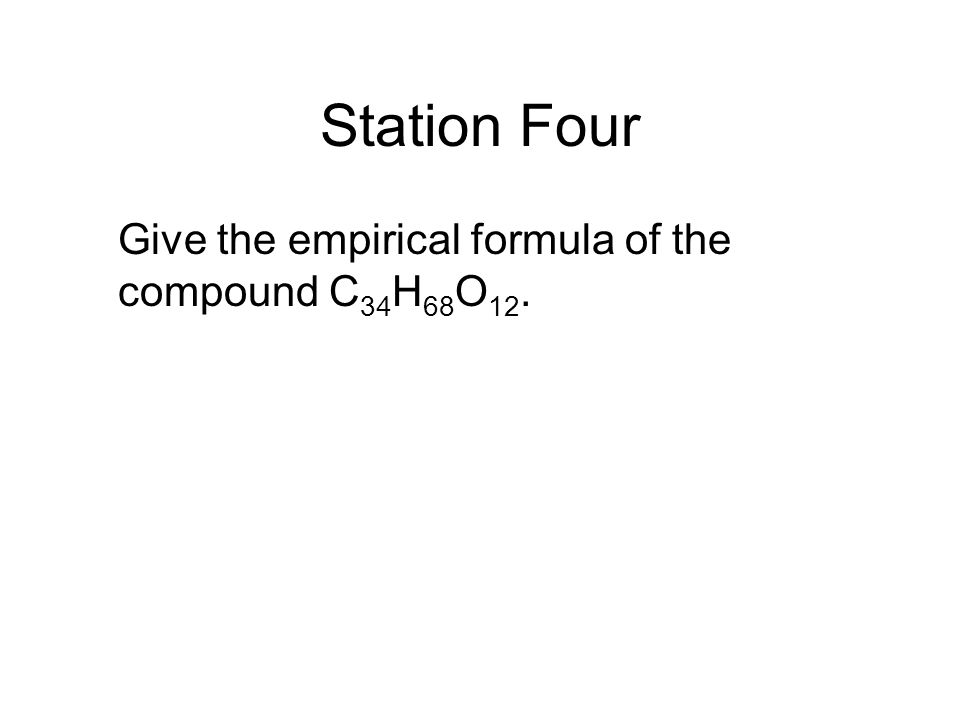 Station Five Find the mass of a sample of C 6 H 6 gas that occupies 56.3 L at STP.