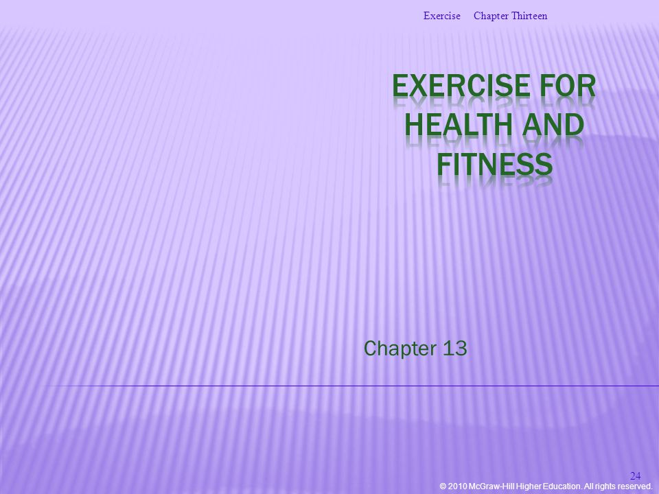 © 2010 McGraw-Hill Higher Education. All rights reserved. Chapter 13 Chapter ThirteenExercise 24