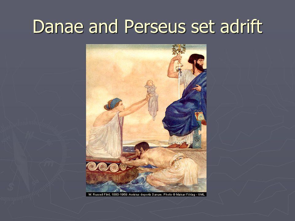 Danae and Perseus set adrift