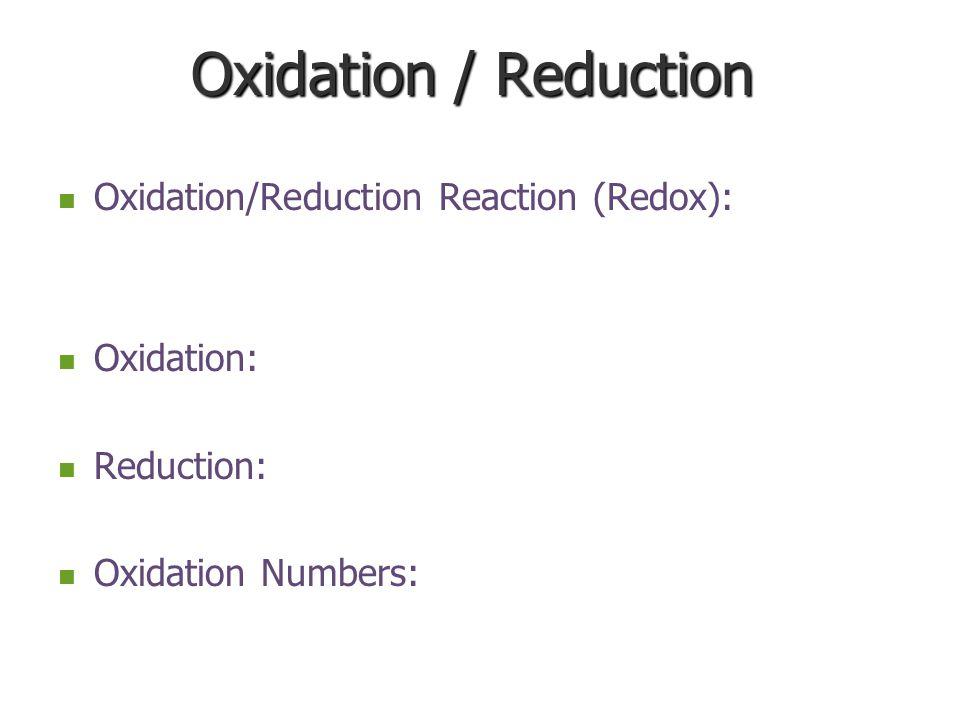 Rule #Applies ToStatement 1ElementsOxidation number of an element is ALWAYS zero (0).