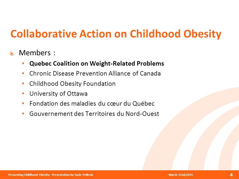 Banning Advertising Directed at Children March 22nd,2011Preventing Childhood Obesity - Presentation by Suzie Pellerin 5 QUEBEC NORWAY SWEDEN