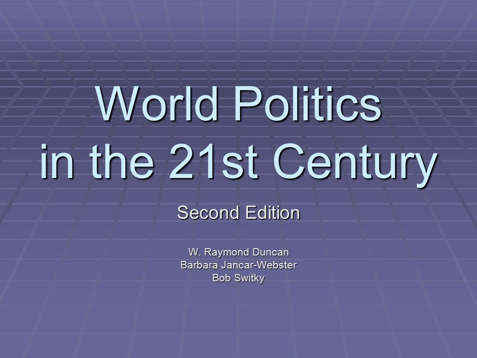 Chapter Twelve International Political Economy II: The Politics of Development Figure 12.1 Poverty Headcount Index Source: World Bank as reported in Old Battle; New Strategy, The Economist January 8, 2000.