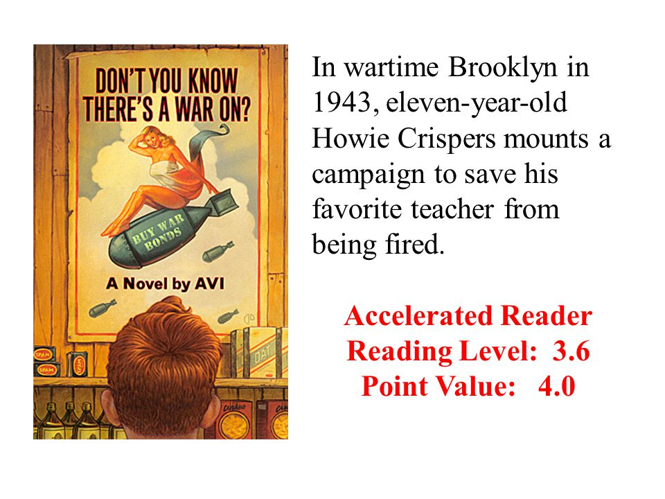 In wartime Brooklyn in 1943, eleven-year-old Howie Crispers mounts a campaign to save his favorite teacher from being fired.